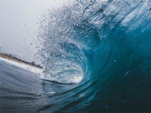 Por que hay olas