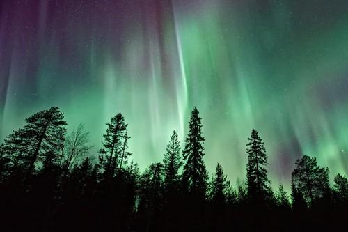Por que las auroras boreales se producen en los polos